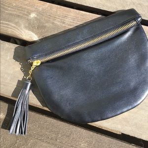 Handbags - Brand New Black Tassel Clutch